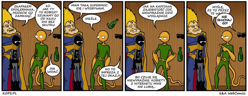 46. Impreza superbohaterów, część 1