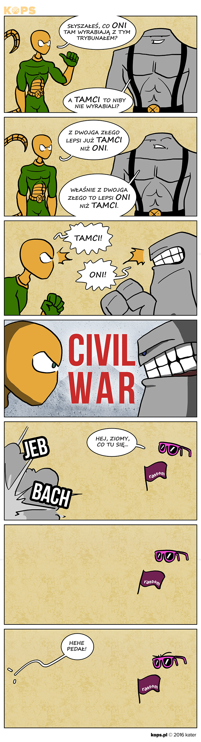 Civil War po polsku