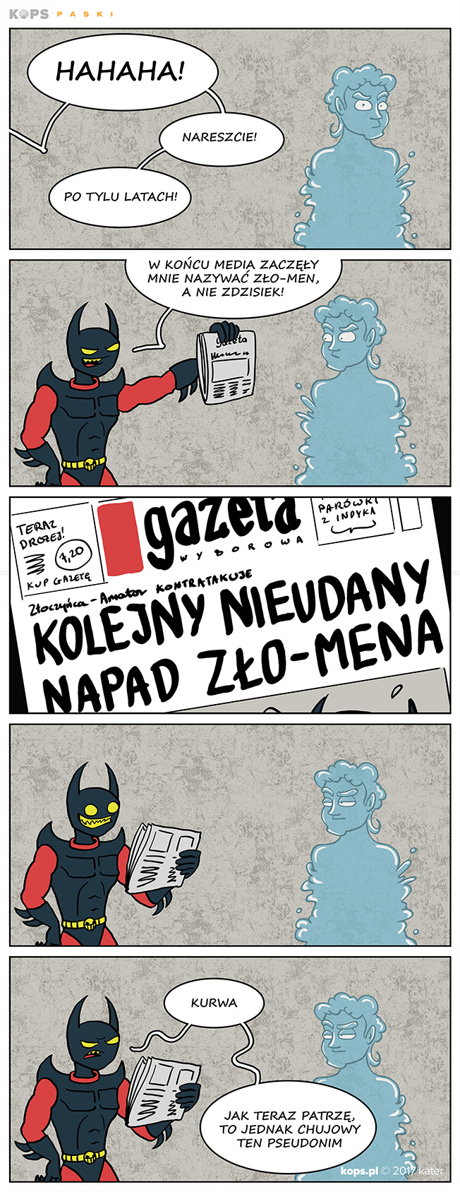 Zło-Men vs Media
